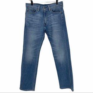 LEVI'S 505 Straight Regular Fit Jeans 33Wx32L
